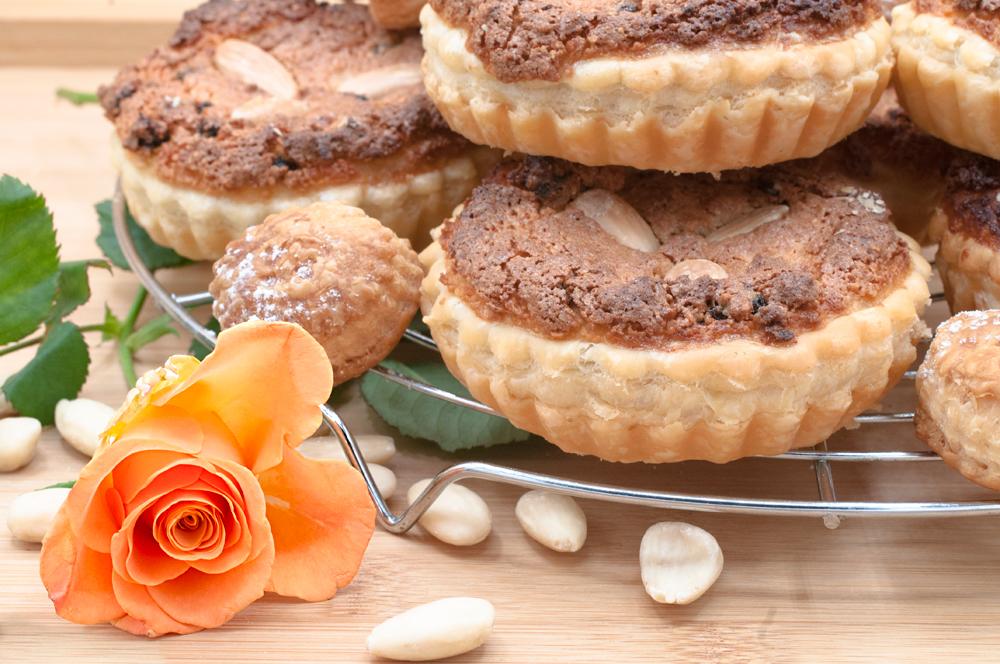 ciastka z migdałami,ciastka,torciki Madame,torciki z migdałami