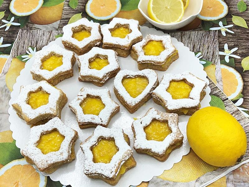 Cytrynowe-kruche-ciasteczka