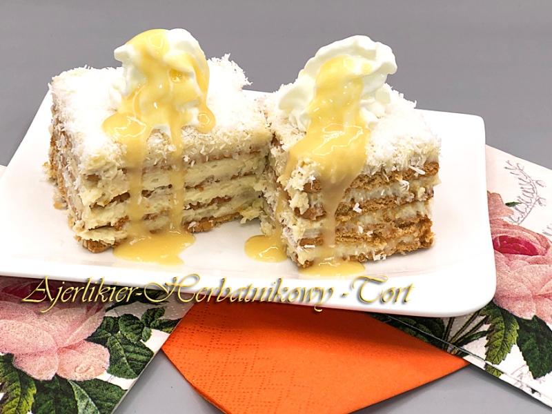 tort herbatnikowy z ajerlikierem