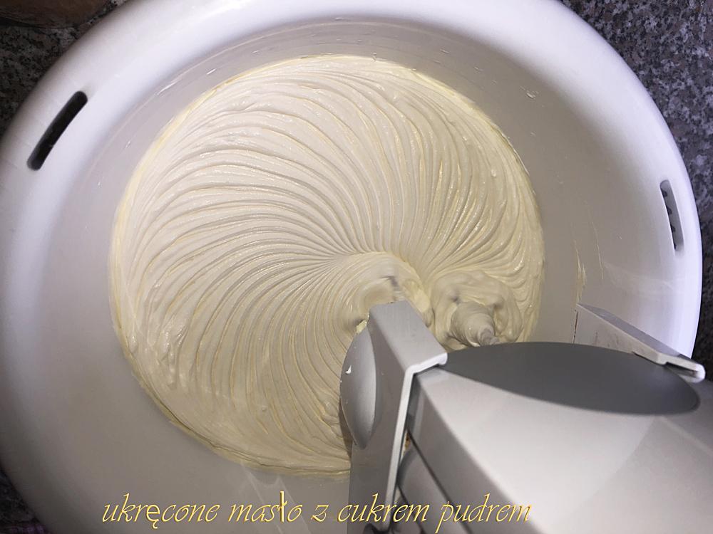 kremowa masa do ciasteczek kruchych