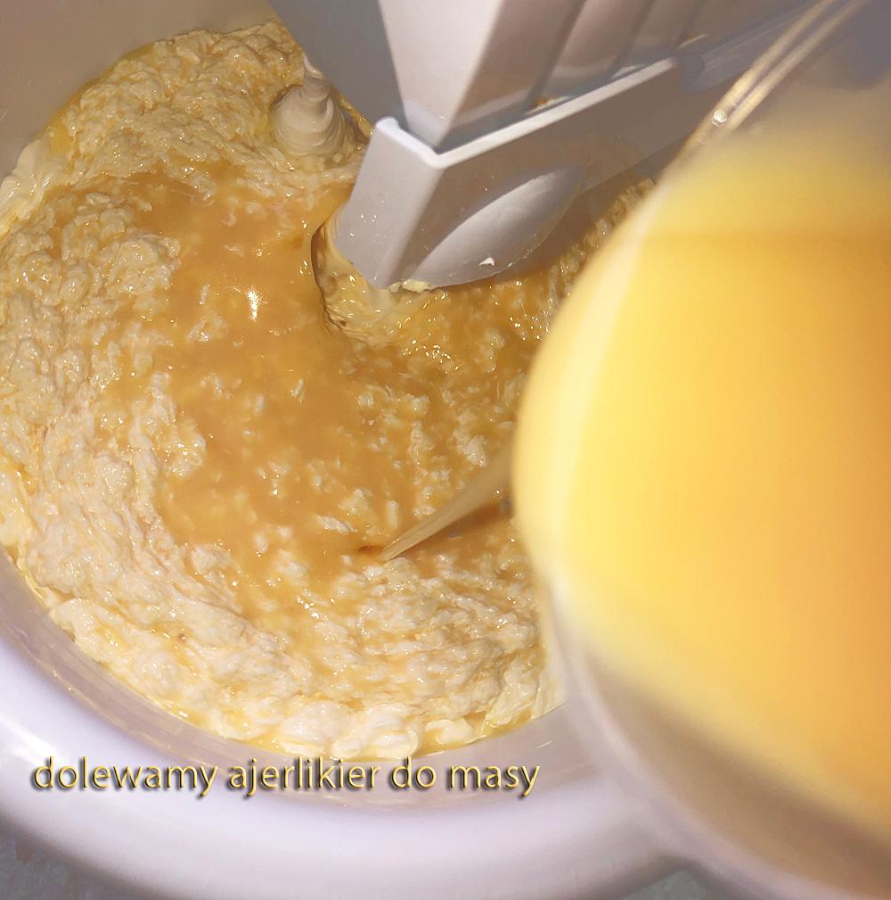 likier jajeczny z maślana masa do ciasteczek kruchych