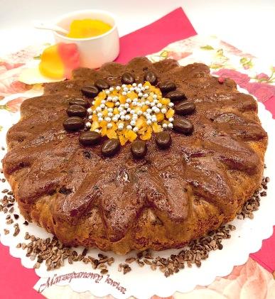 ciasto kakowe z ciastem wanilinowym