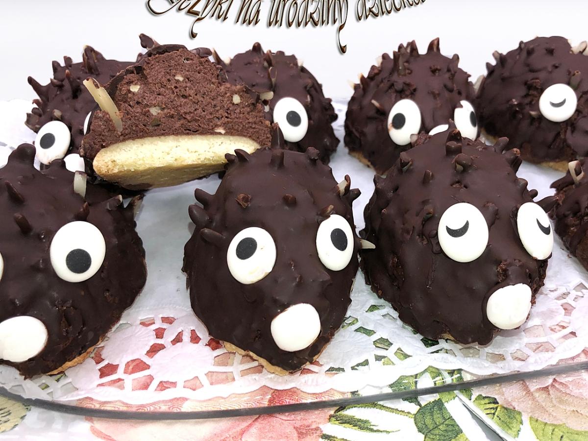 czekoladowe jeżyki