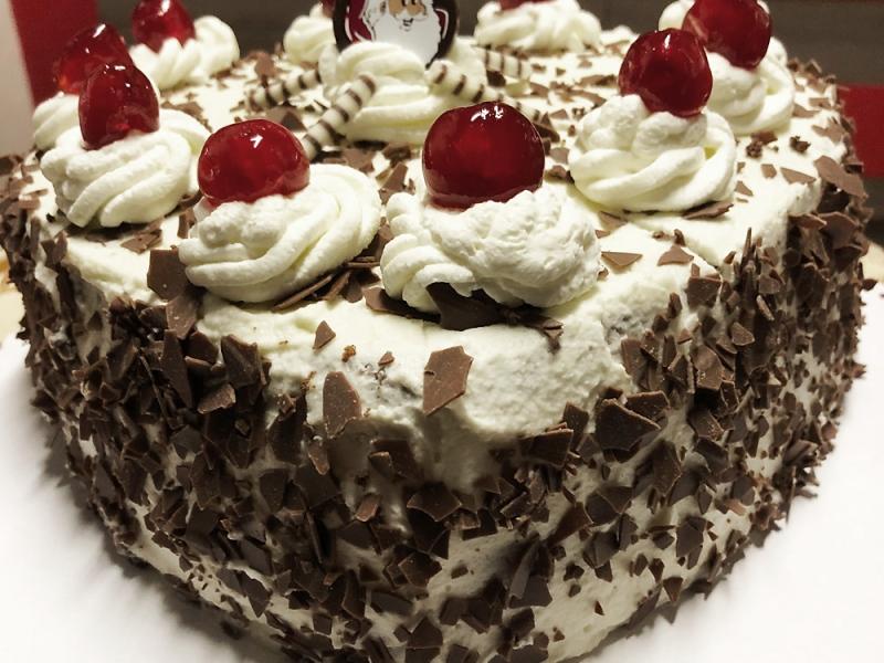 Wiśniowy tort