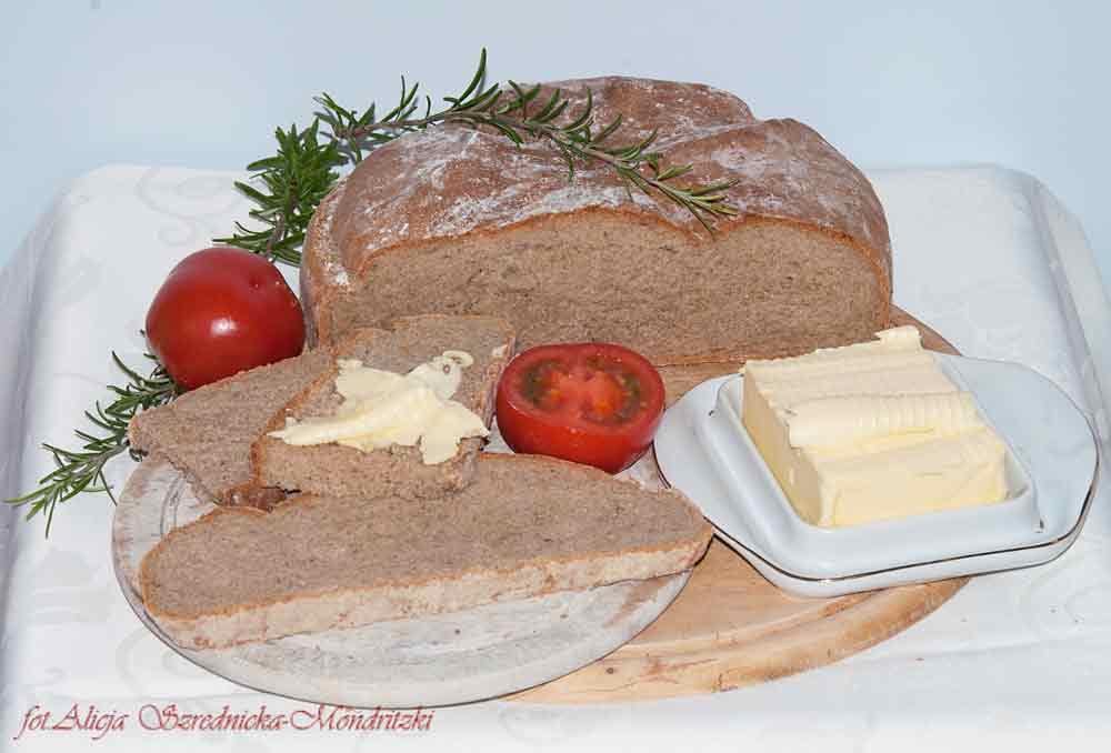 Krzepki chleb chłopski