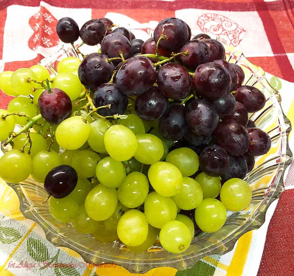 Winogrona do deseru