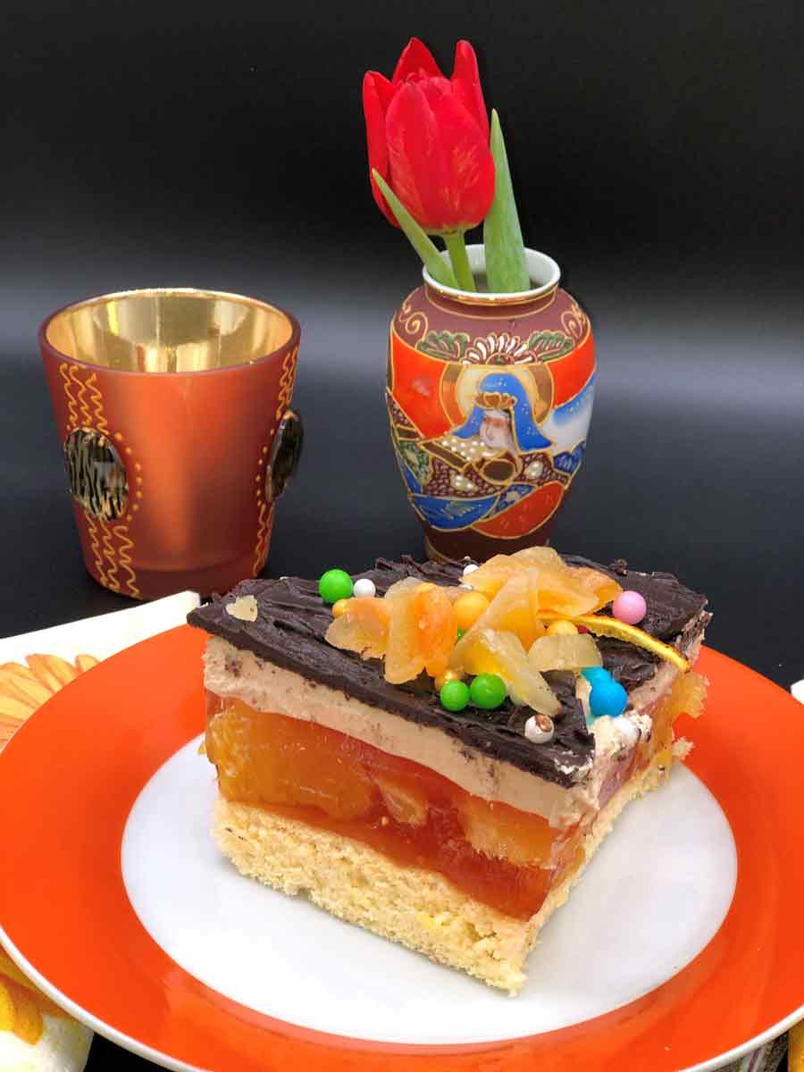 Pomarańczowy tort