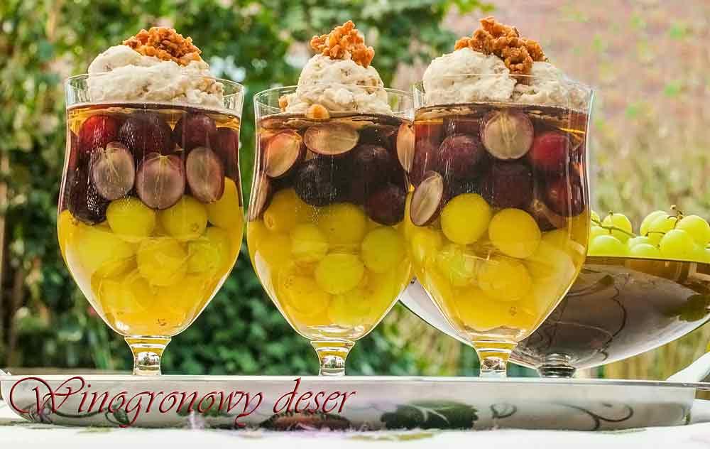 Winogronowy-deser