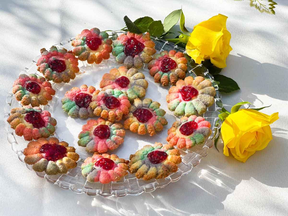 Ciasteczka wiosenne