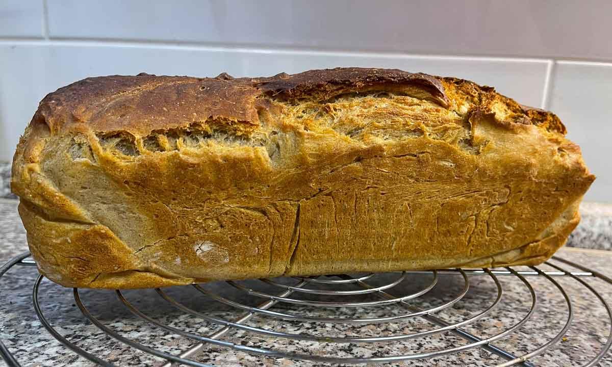 Chleb z kefirem wodnym