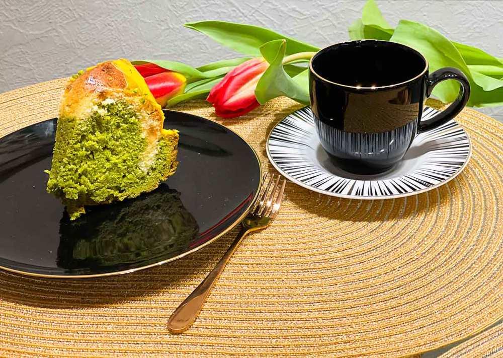 babka cytrynowo-zielona