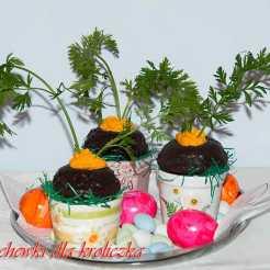 babeczki, zajączek, Wielkanoc