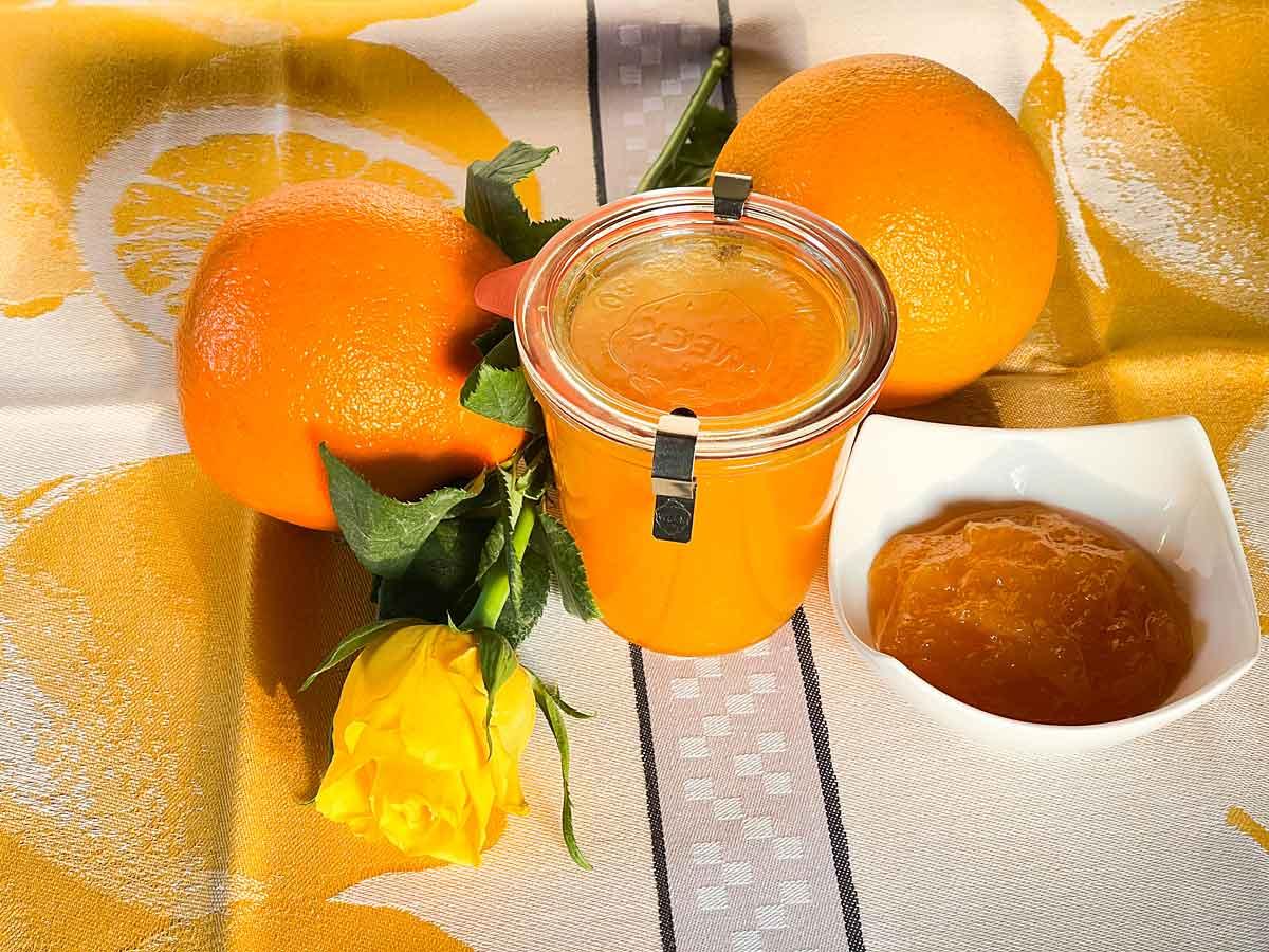 marmolada pomarańczowa własnej roboty