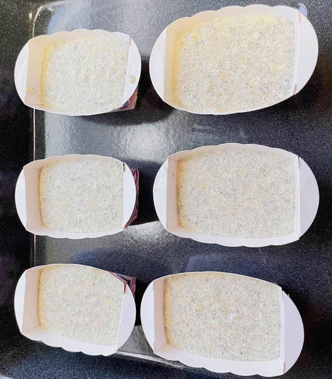 ciasto na białkowe-makowe babeczki