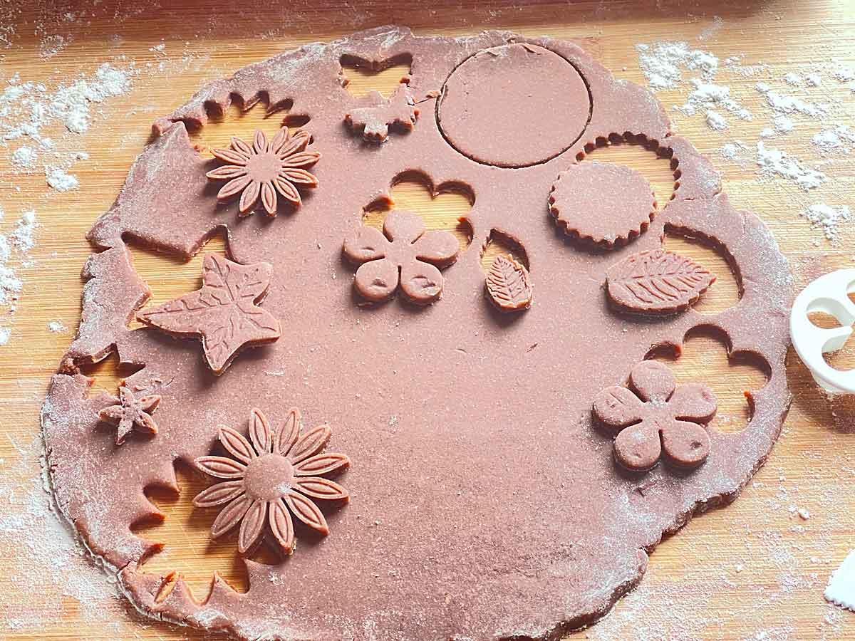 Ciasto na kakaowe ciasteczka