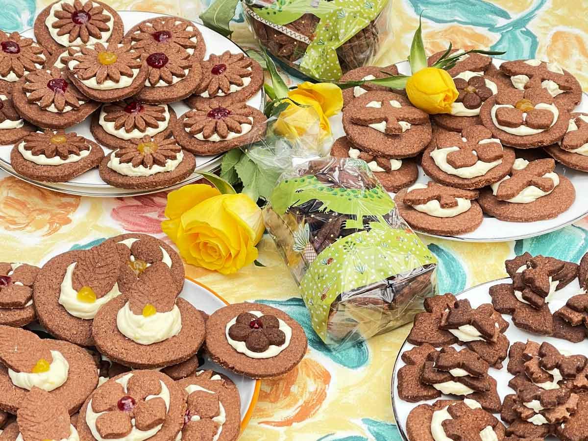 Ciasteczka z kremem Marsmallow