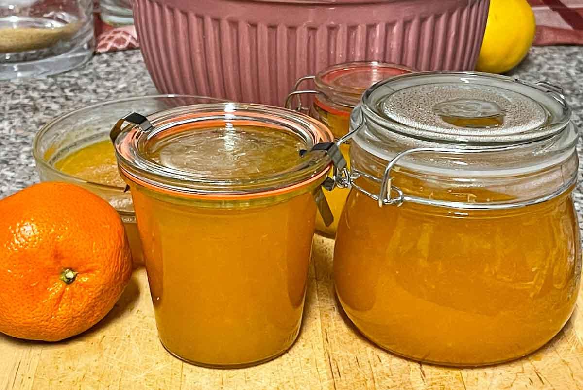Marmolada z pomarańczy
