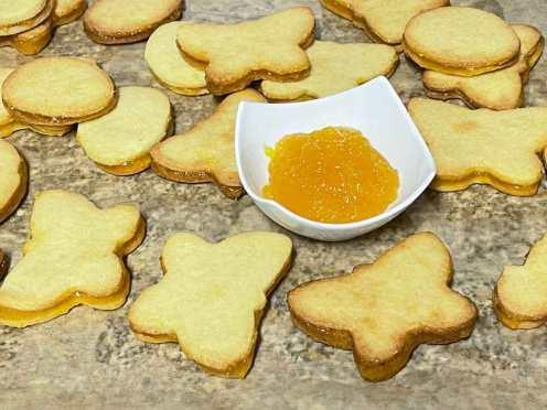 ciasteczka pomaranczowe