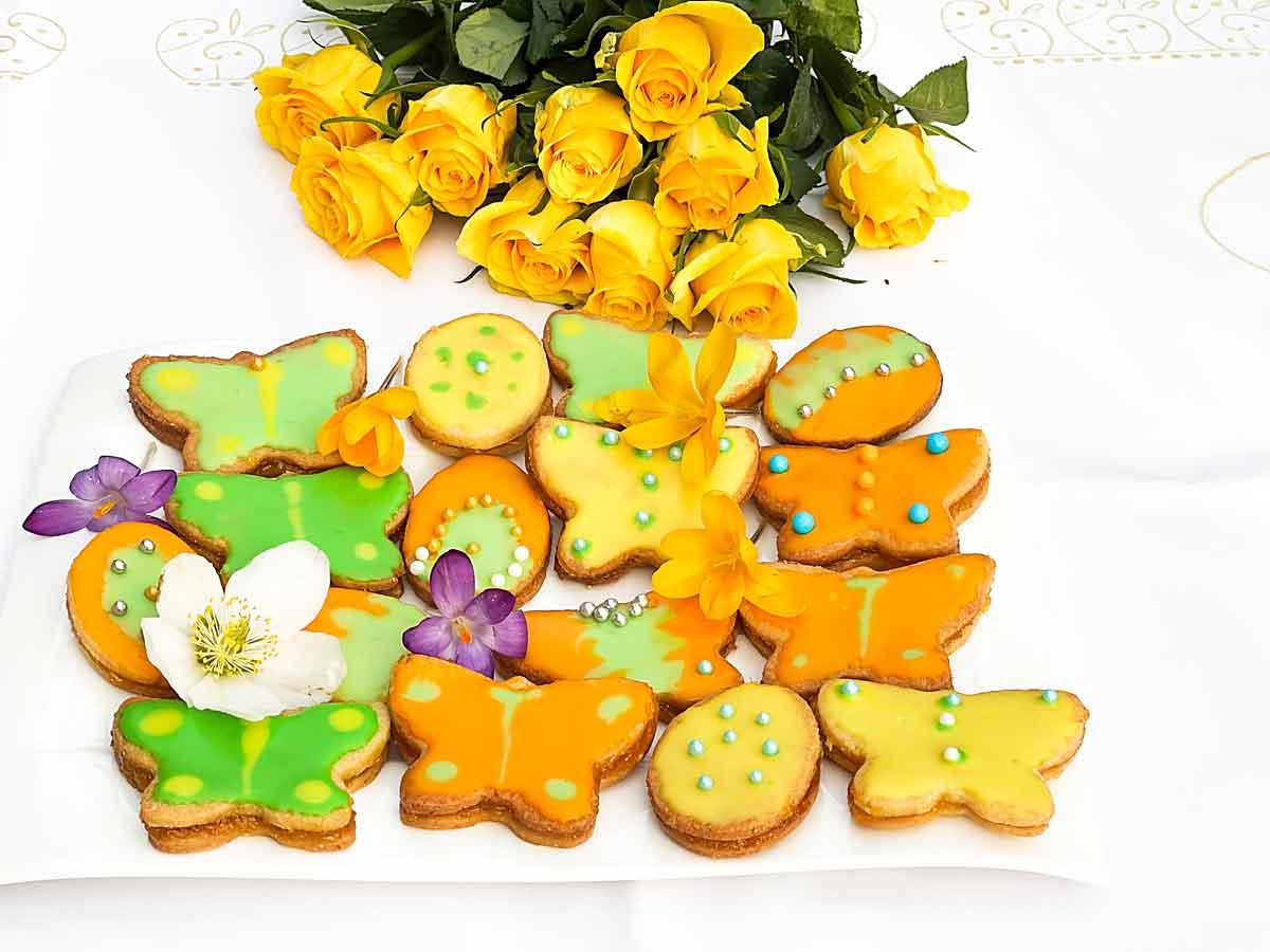 Ciastka pomaranczowe