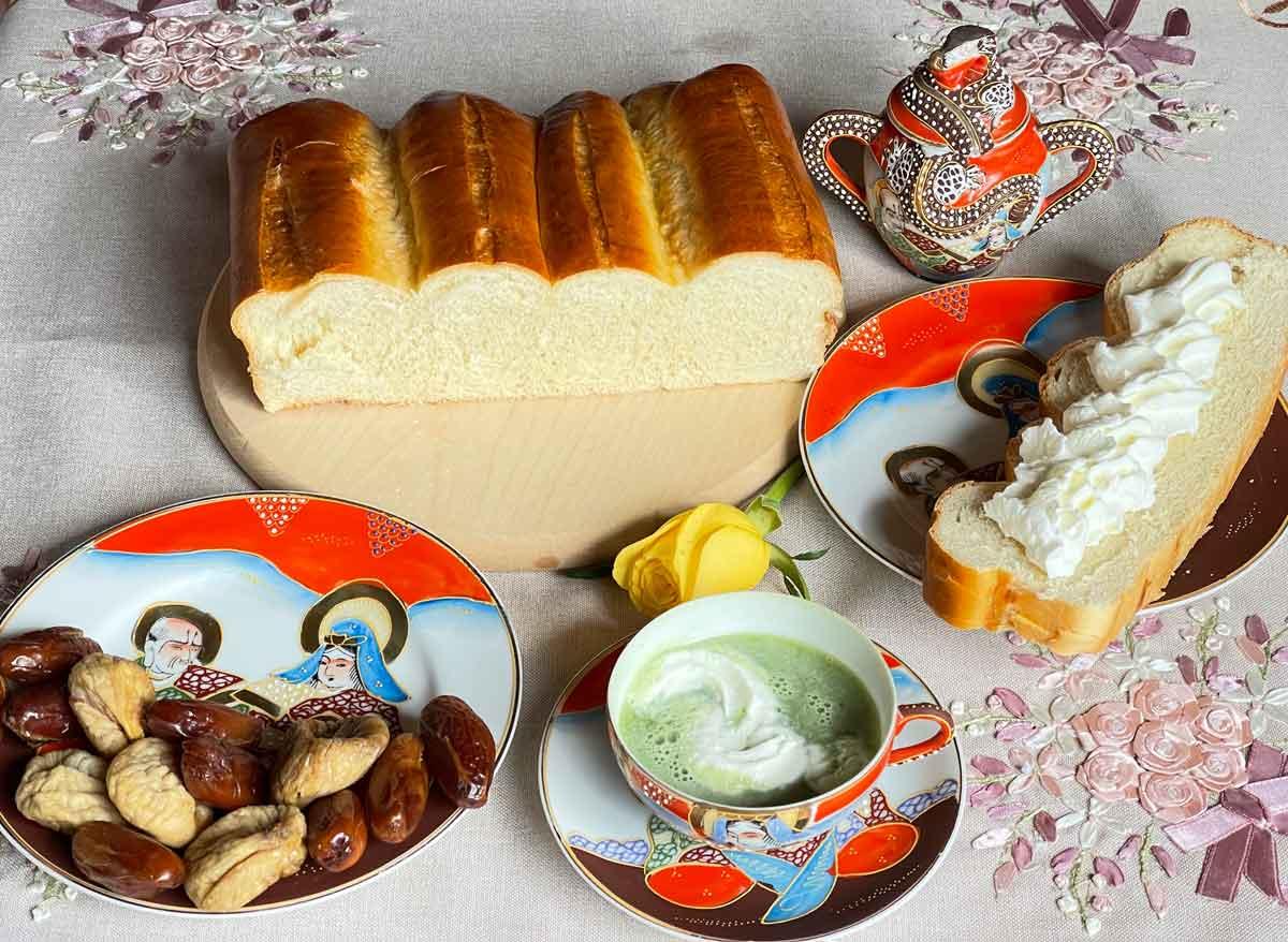 Chleb japoński biały