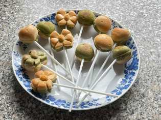 ciasteczka na lizaki