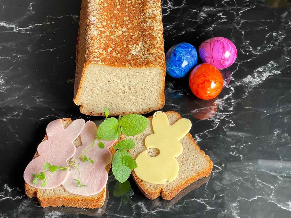 Chleb z mlekiem owsianym