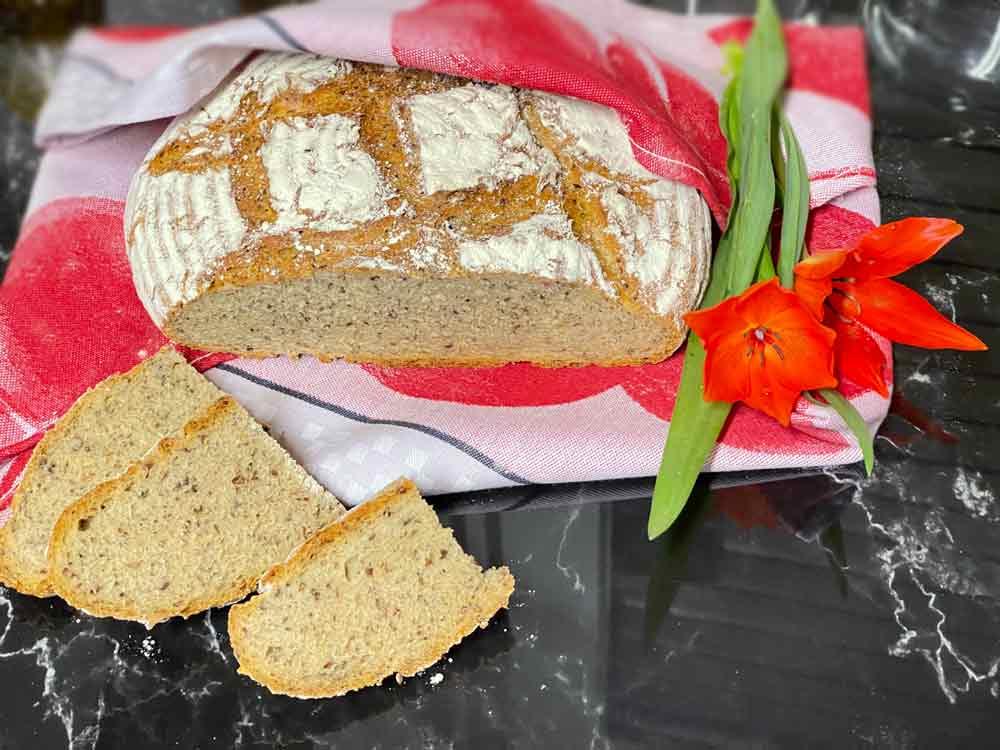 Chleb- szybki -czteroziarnisty