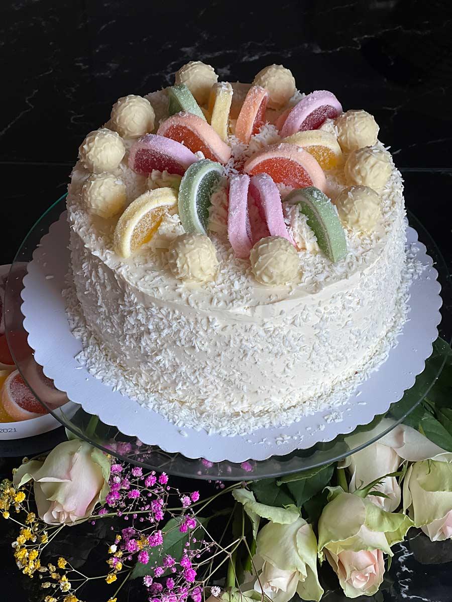 Białe ciasto,  White cake