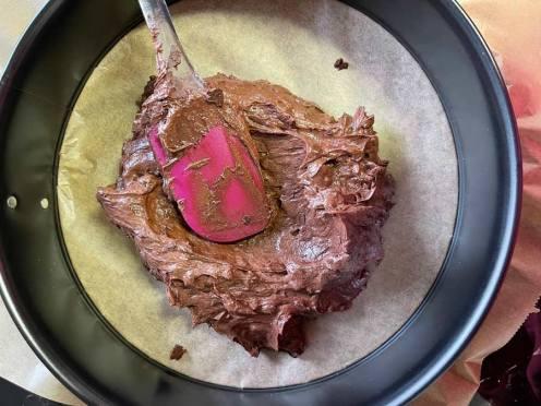 spód czekoladowy do tortu z mousse z lustrem