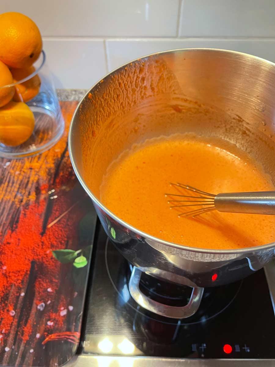 jak zrobić truskawkowy Curd