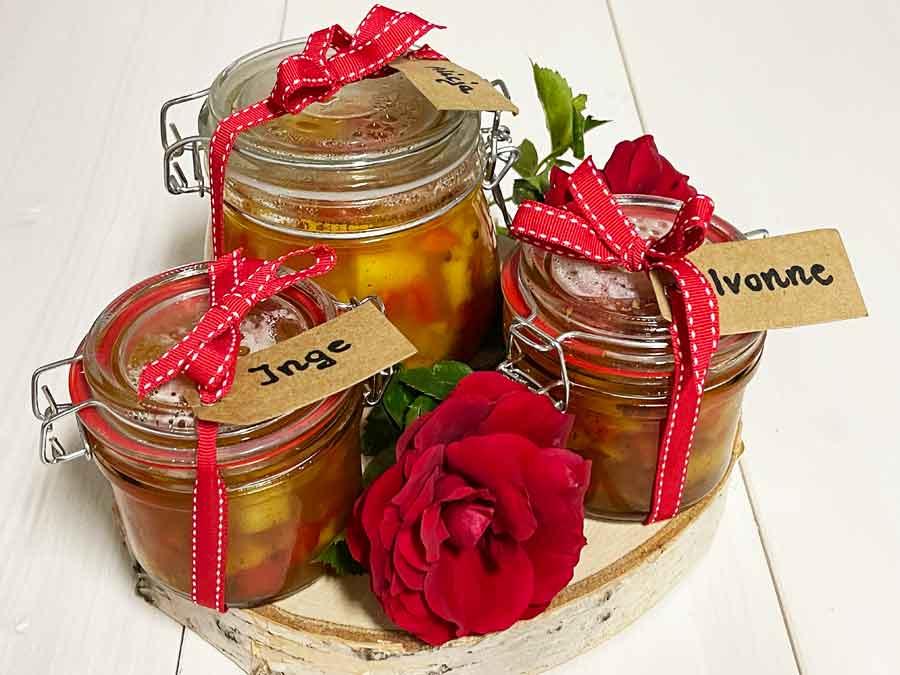 Ananas-Papryka-Chutney