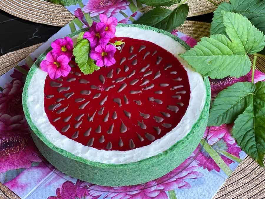 Tort na zimno-Arbuz