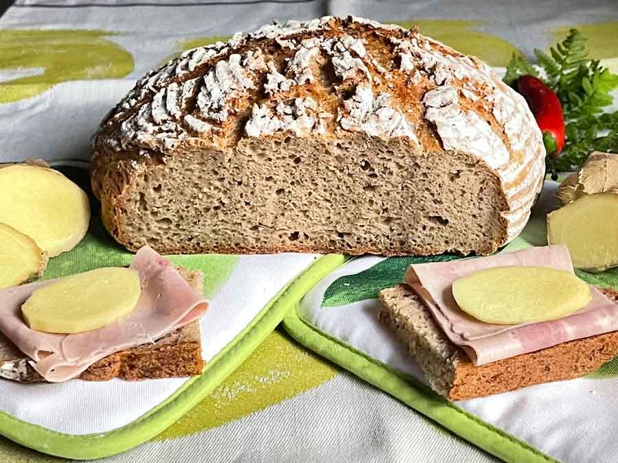 Chleb ze Skyrem i Pasta Madre