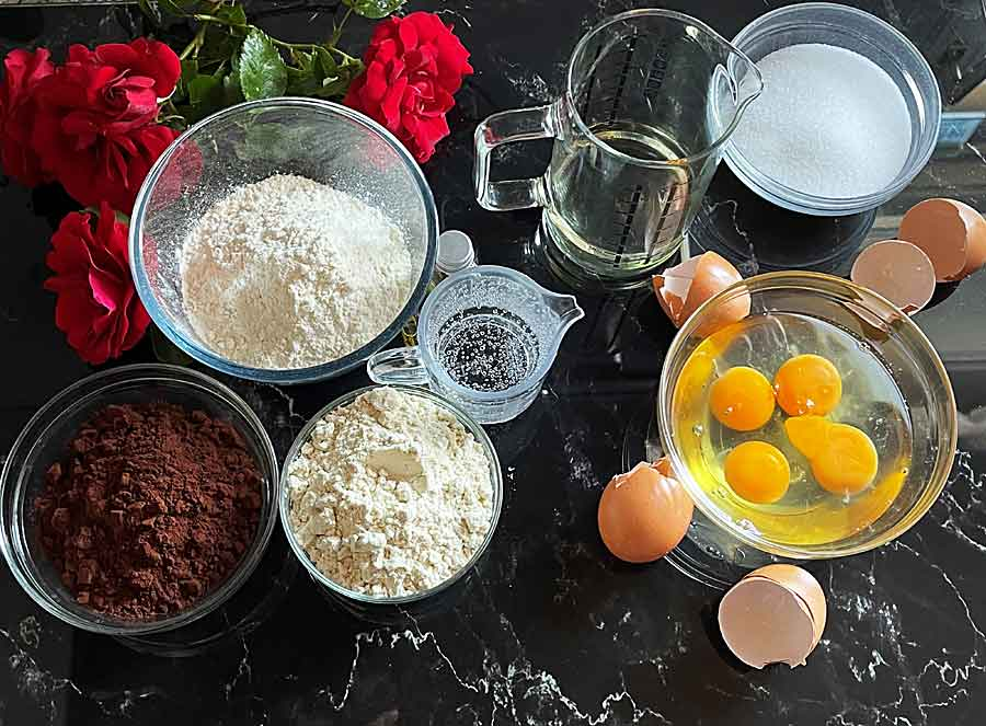składniki Tortu plaster miodu