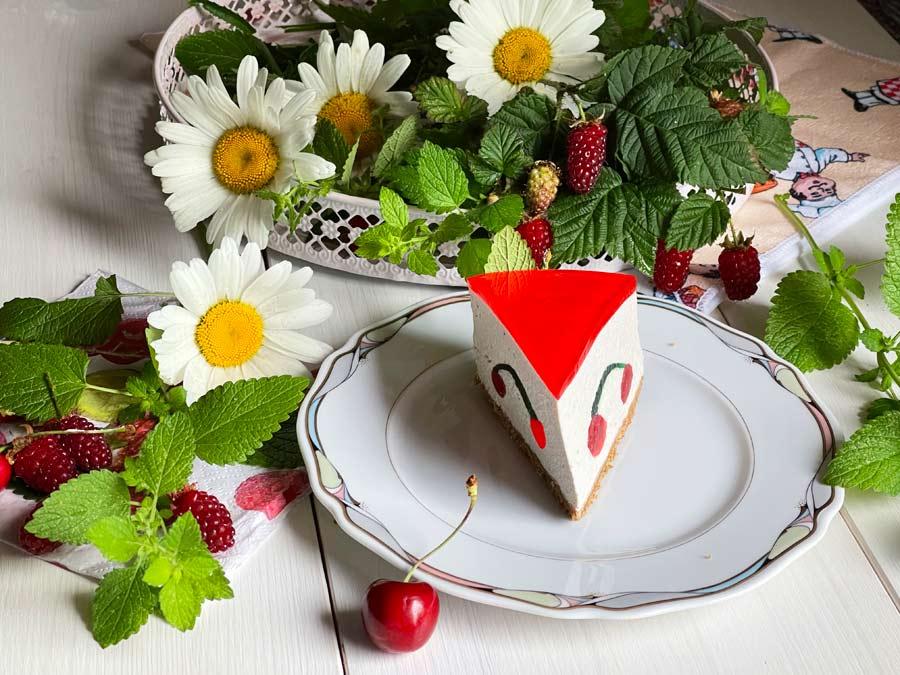 Sernik-Owocowy raj