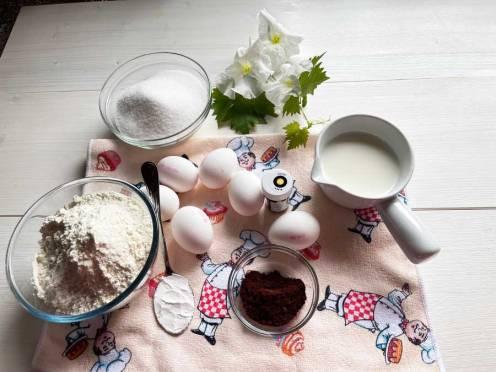 Bycze ciasto- składniki