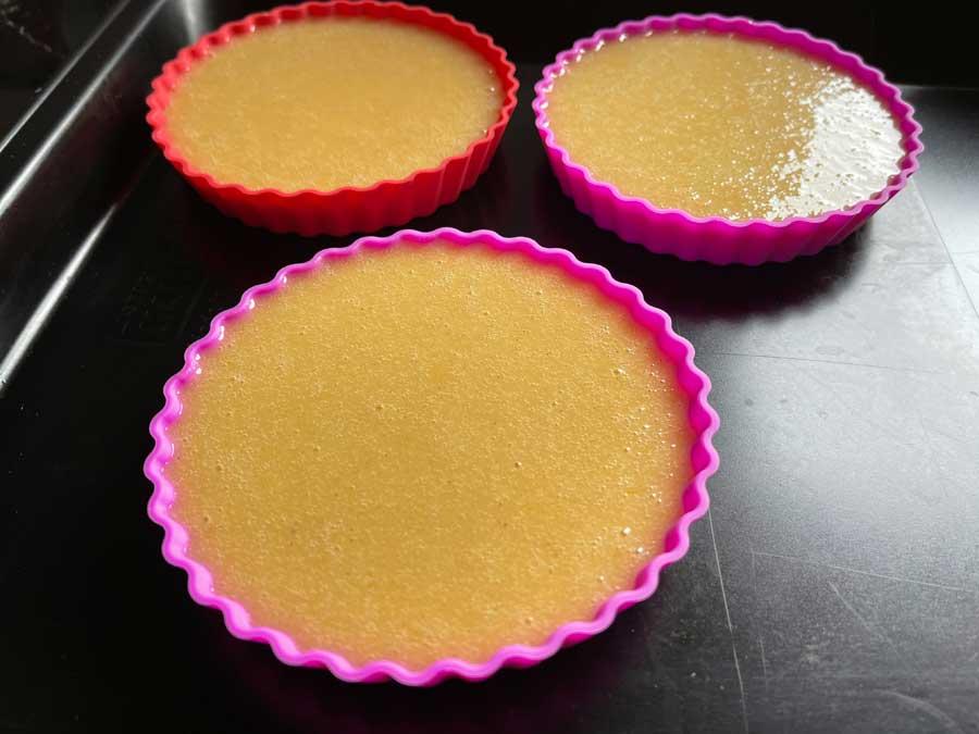 Torciki z pieczonymi truskawkami